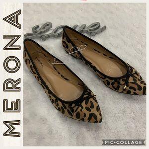 NWOT •Merona •Leopard Print Flats •7.5 more like 7